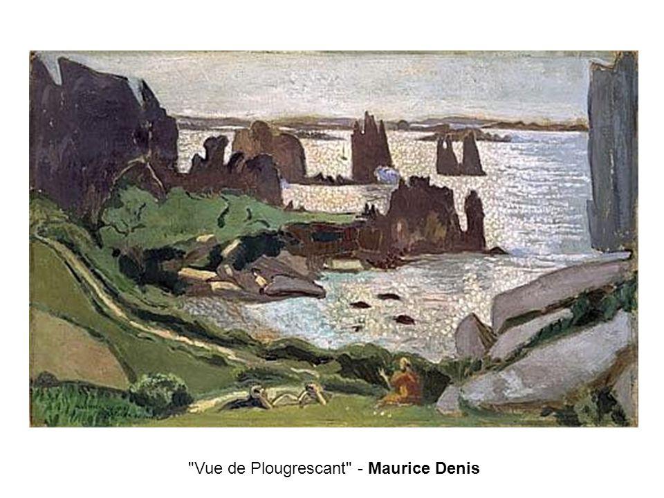 Vue de Plougrescant - Maurice Denis