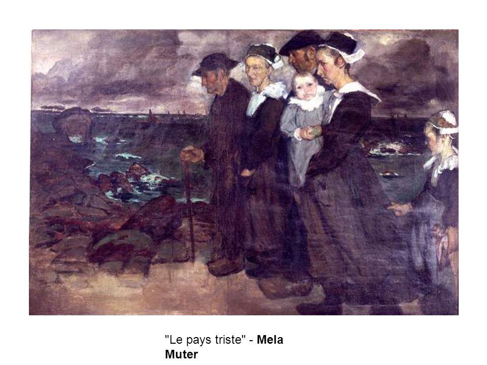 Le pays triste - Mela Muter