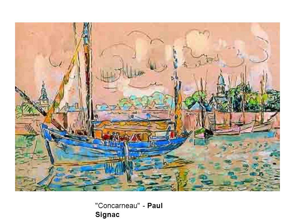 Concarneau - Paul Signac
