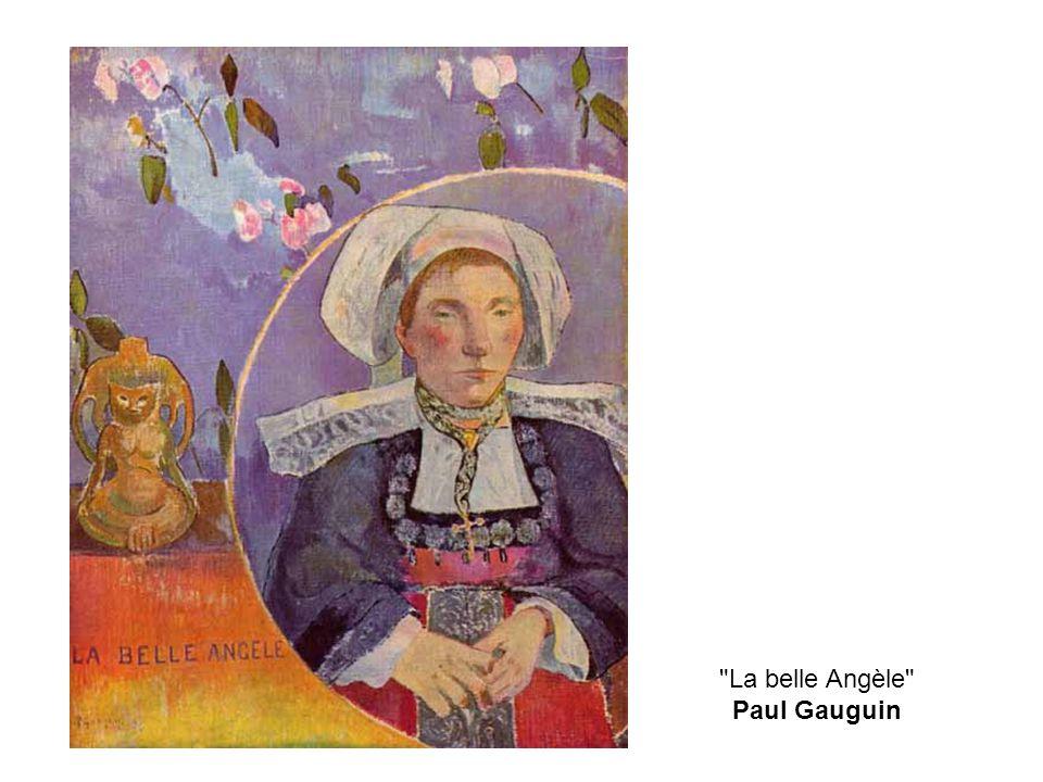 La belle Angèle Paul Gauguin