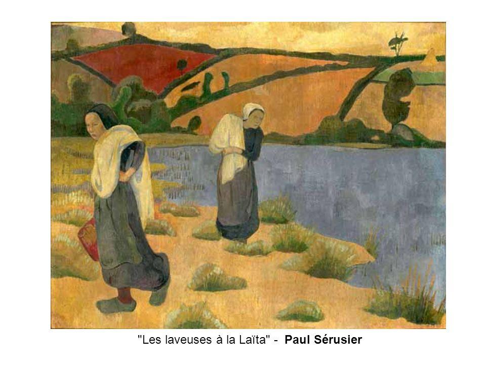 Les laveuses à la Laïta - Paul Sérusier