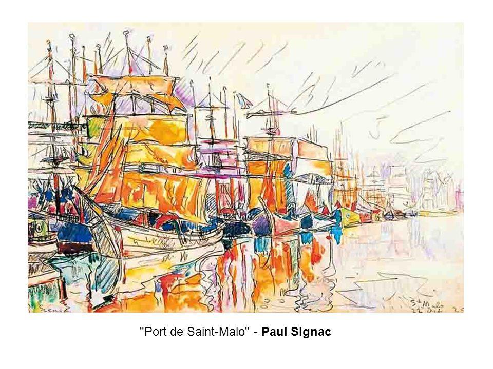 Port de Saint-Malo - Paul Signac