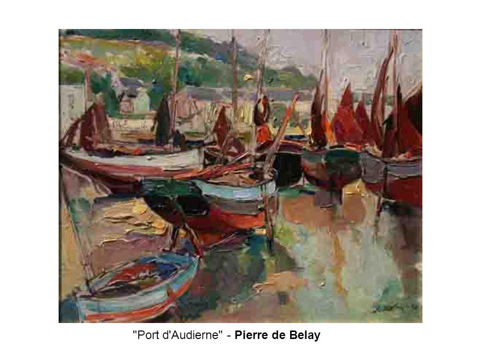 Port d Audierne - Pierre de Belay