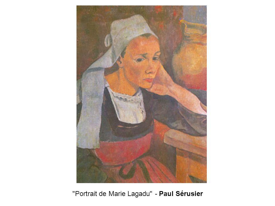 Portrait de Marie Lagadu - Paul Sérusier