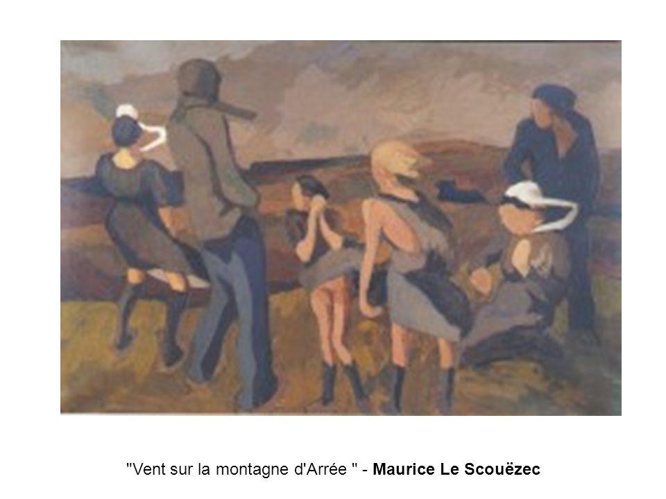 Vent sur la montagne d Arrée - Maurice Le Scouëzec