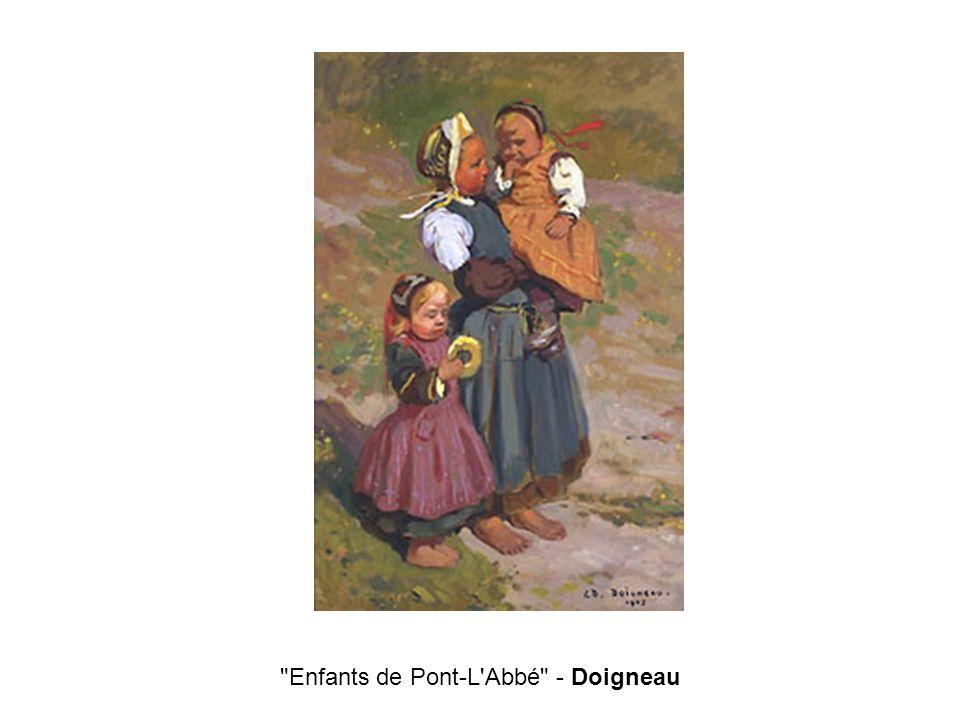 Enfants de Pont-L Abbé - Doigneau