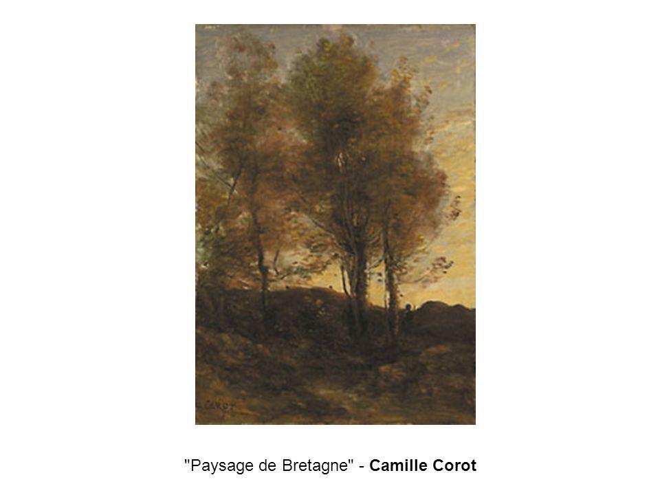 Paysage de Bretagne - Camille Corot