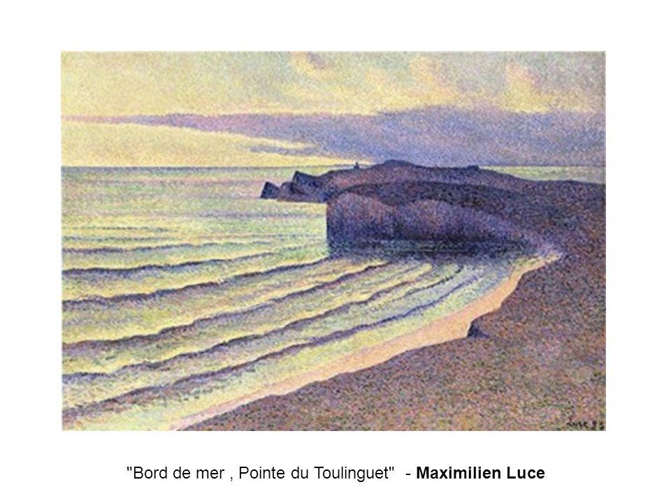 Bord de mer, Pointe du Toulinguet - Maximilien Luce