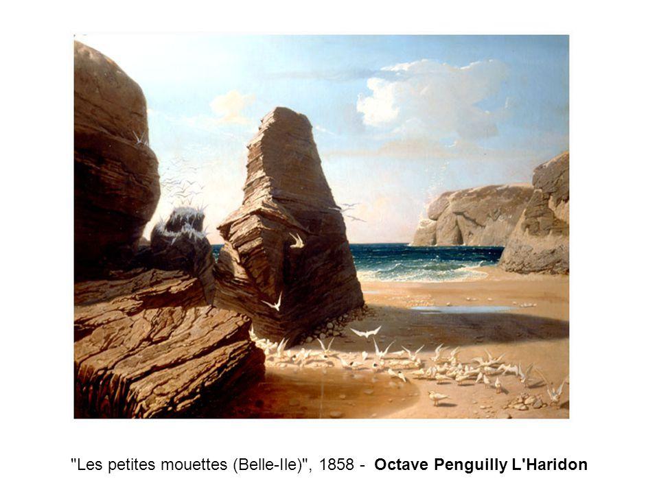 Les petites mouettes (Belle-Ile) , 1858 - Octave Penguilly L Haridon