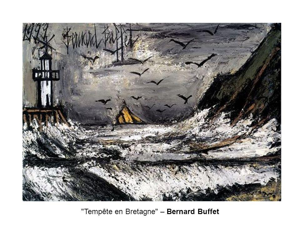 Tempête en Bretagne – Bernard Buffet