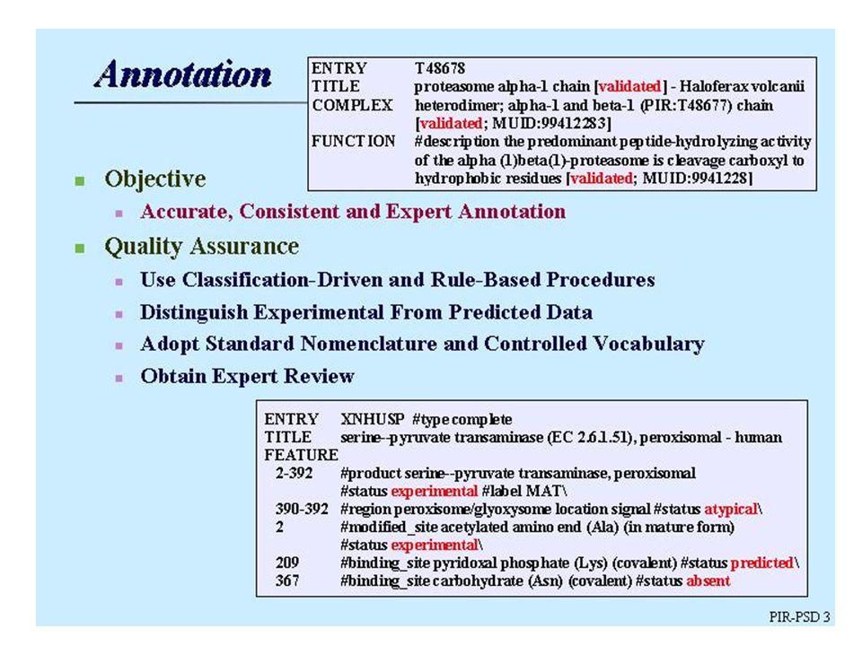 SRS - Sequence Retrieval System Rajouter l URL 1