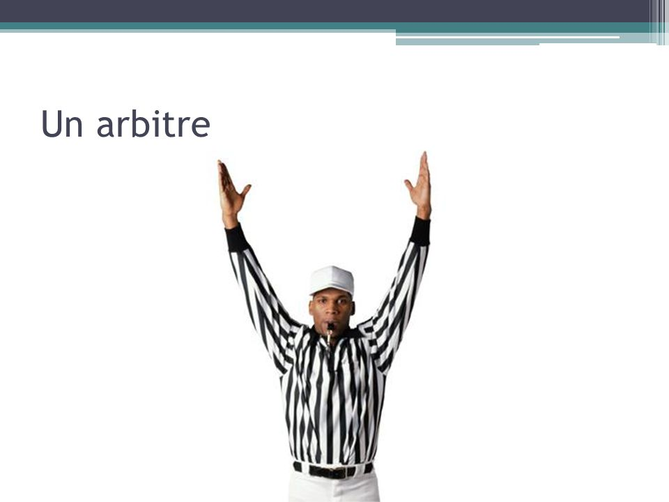 Un arbitre