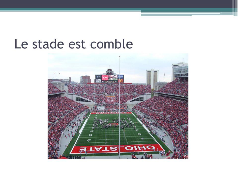 Le stade est comble