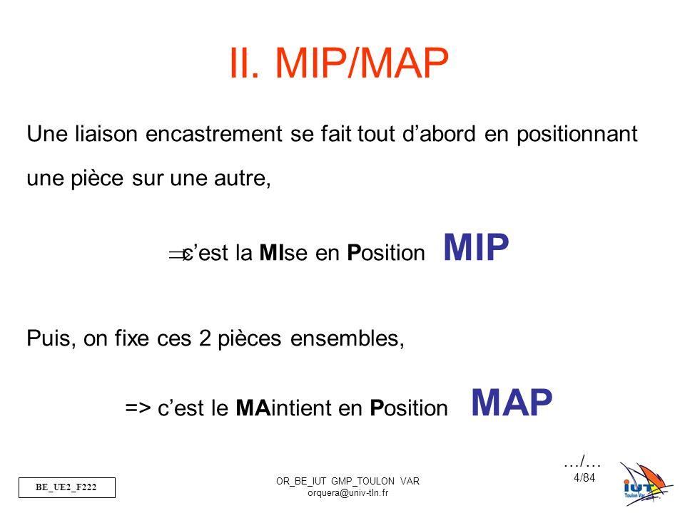 BE_UE2_F222 OR_BE_IUT GMP_TOULON VAR orquera@univ-tln.fr 25/84 III.