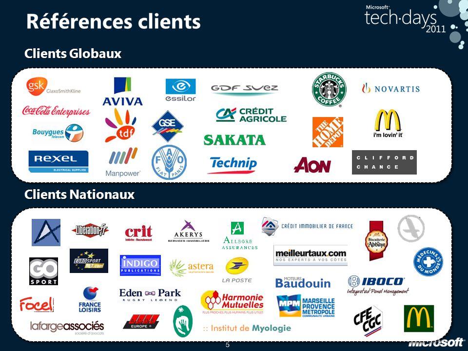 5 Clients Globaux Clients Nationaux