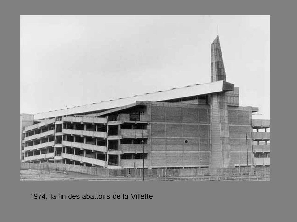 1974, la fin des abattoirs de la Villette