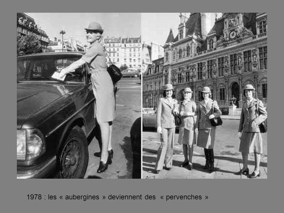 1978 : les « aubergines » deviennent des « pervenches »
