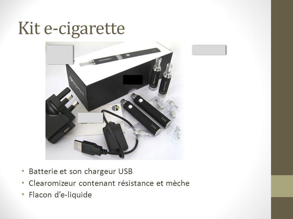Composition Le taux de nicotine des cartouches commercialisées en France doit être inférieur à 20 mg/mL (6 mg/mL, 8 mg/mL, 11 mg/mL, 12 mg/mL, 16 mg/mL, 18 mg/mL, 19,9 mg/mL)