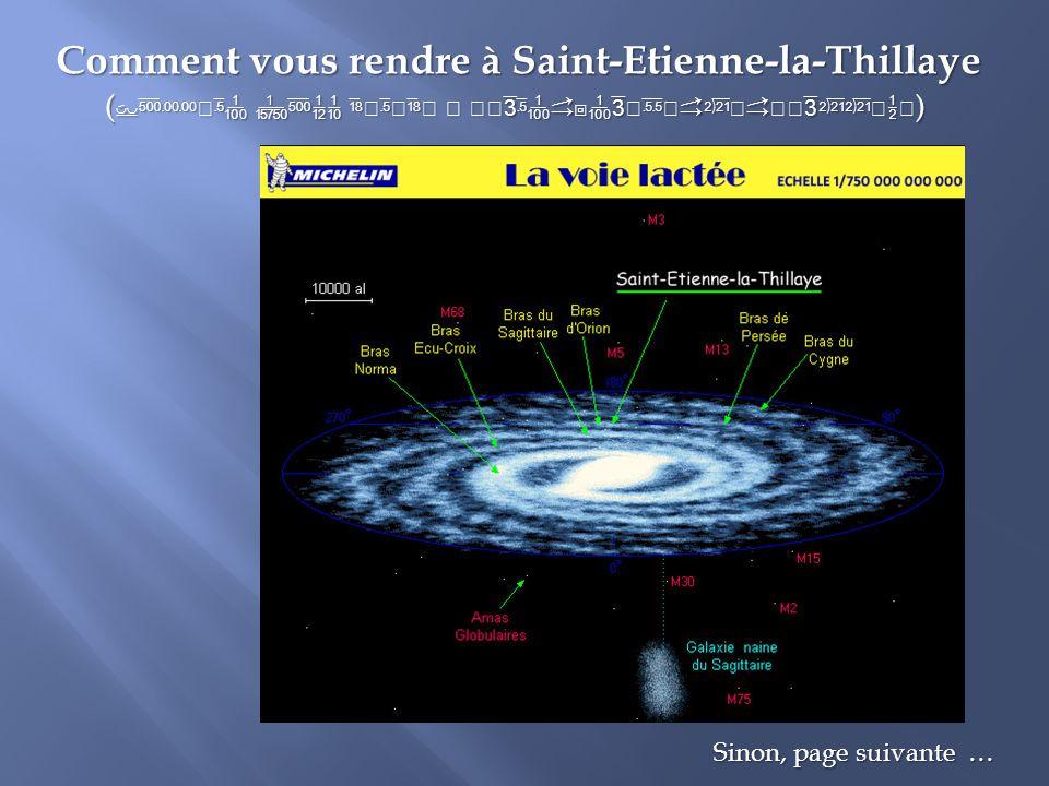 Comment vous rendre à Saint-Etienne-la-Thillaye ( à ) Sinon, page suivante …