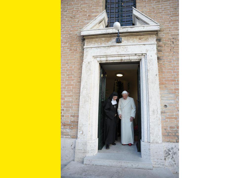 Le Pape dit à notre Mère María Begoña: Comme est-elle belle cette communauté!
