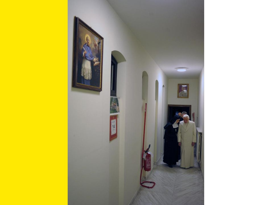 Vers la sacristie