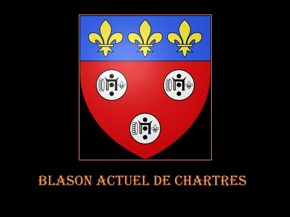 Blason actuel de Chartres