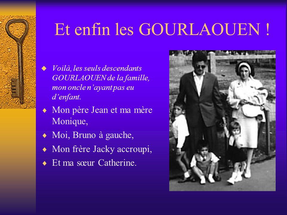 Ensuite les NICOL ! Quand la troisième sœur décide de changer…. Cathie et Yves NICOL Avec eux leurs deux fils: Jean-Pierre laîné, Et Yvan tout petit…