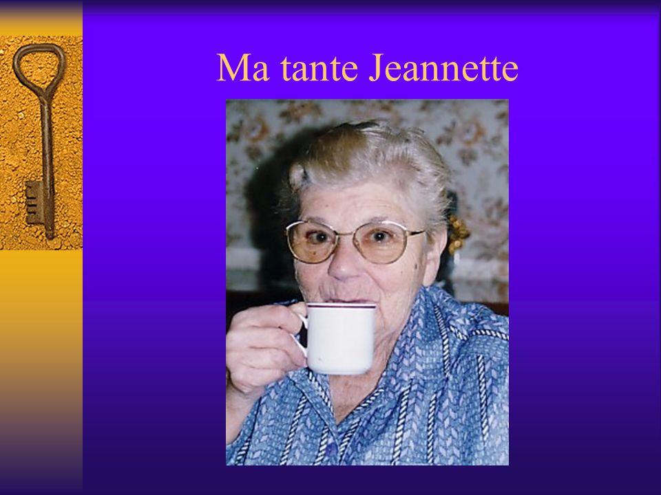 Ma tante Marie