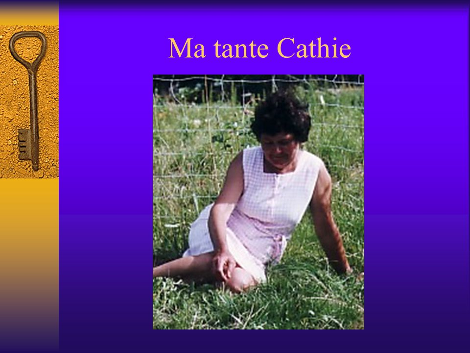 Ma tante Jeannette