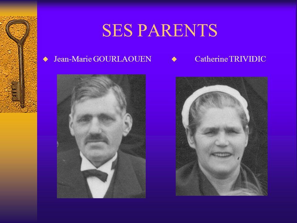 LA FAMILLE GOURLAOUEN Lorigine de la famille de mon père vient du Finistère, du village de Spézet, et plus précisément des lieu-dits KERBARS et RESTME