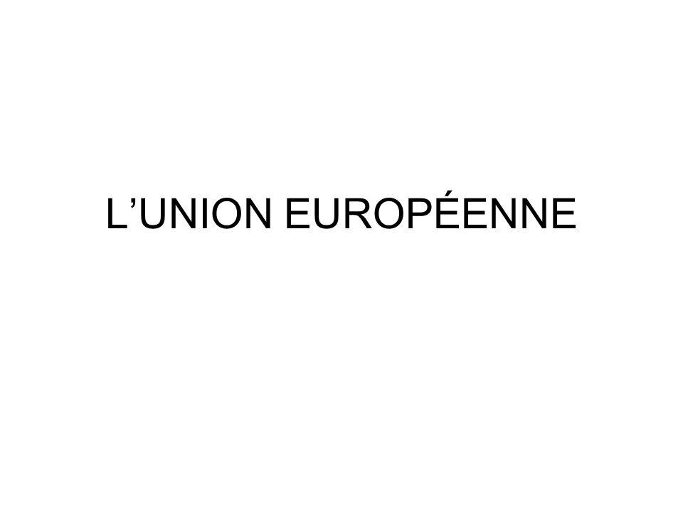 Quest-ce que lUnion européenne.