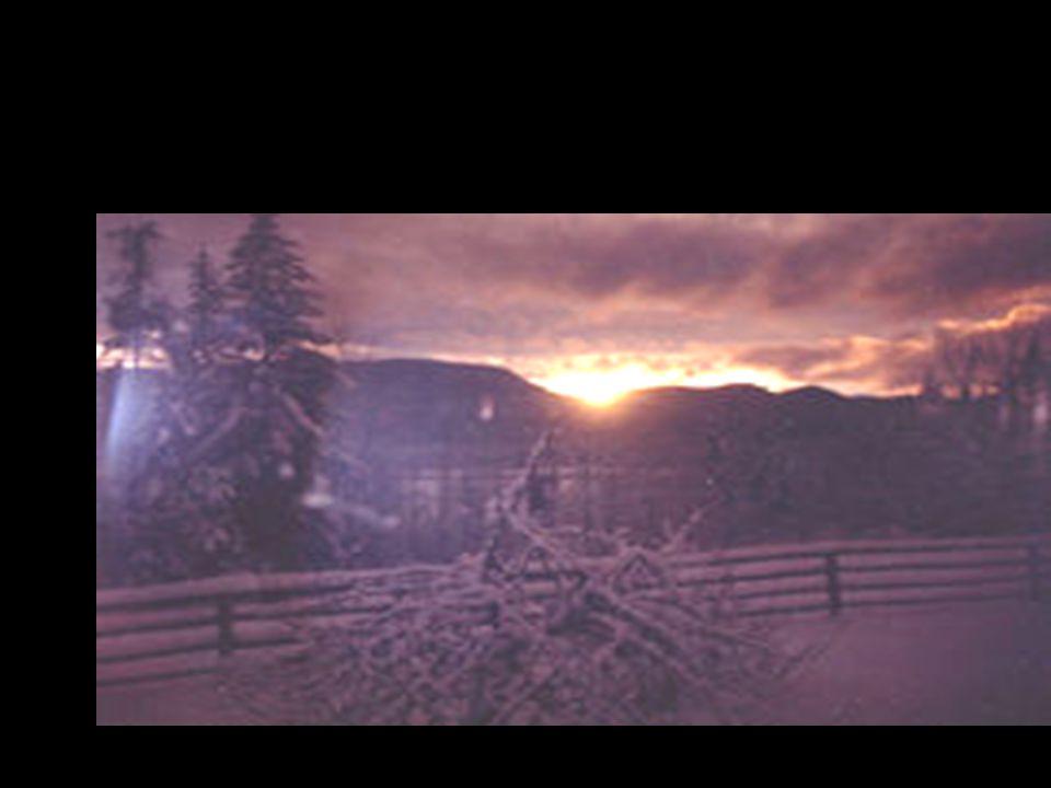 Les couchers de soleil sont les derniers au Canada