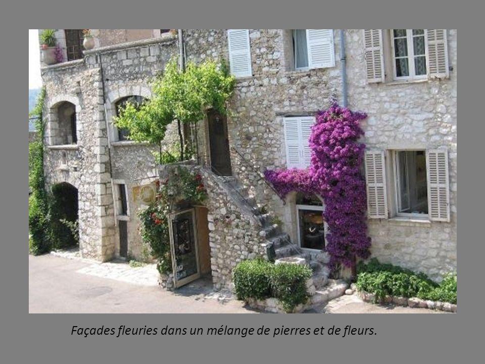 Remparts de Saint Paul, témoins des fortifications érigées par François 1 er. FIN