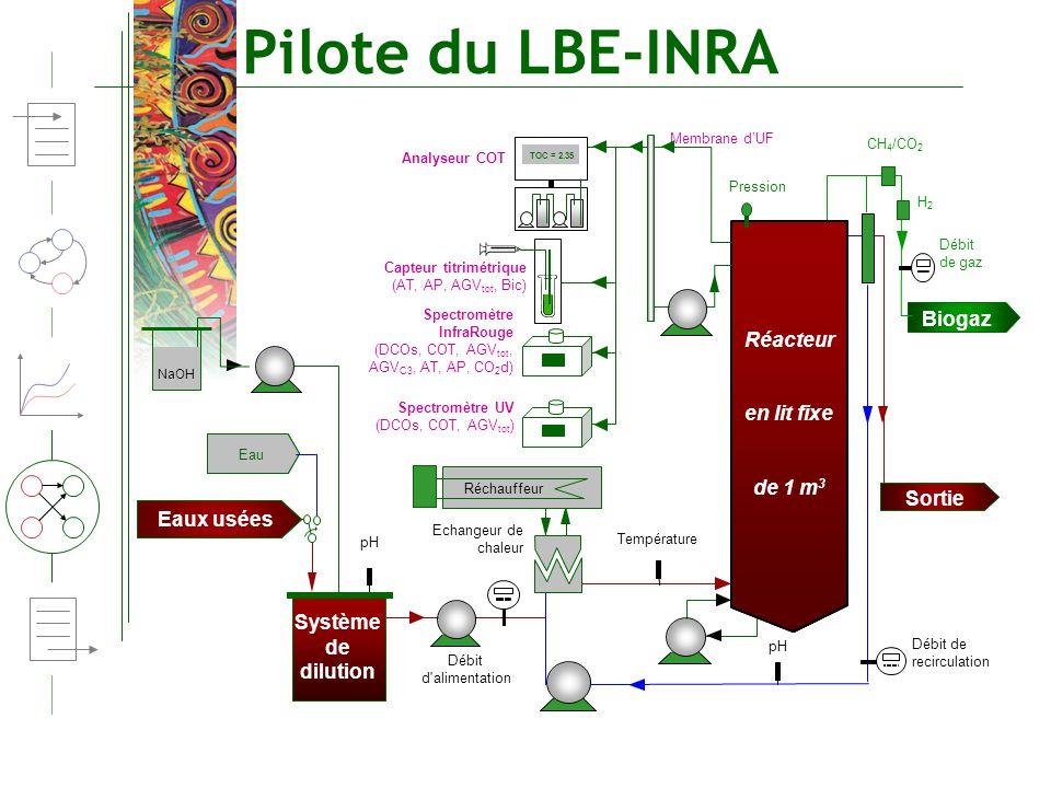 Pilote du LBE-INRA