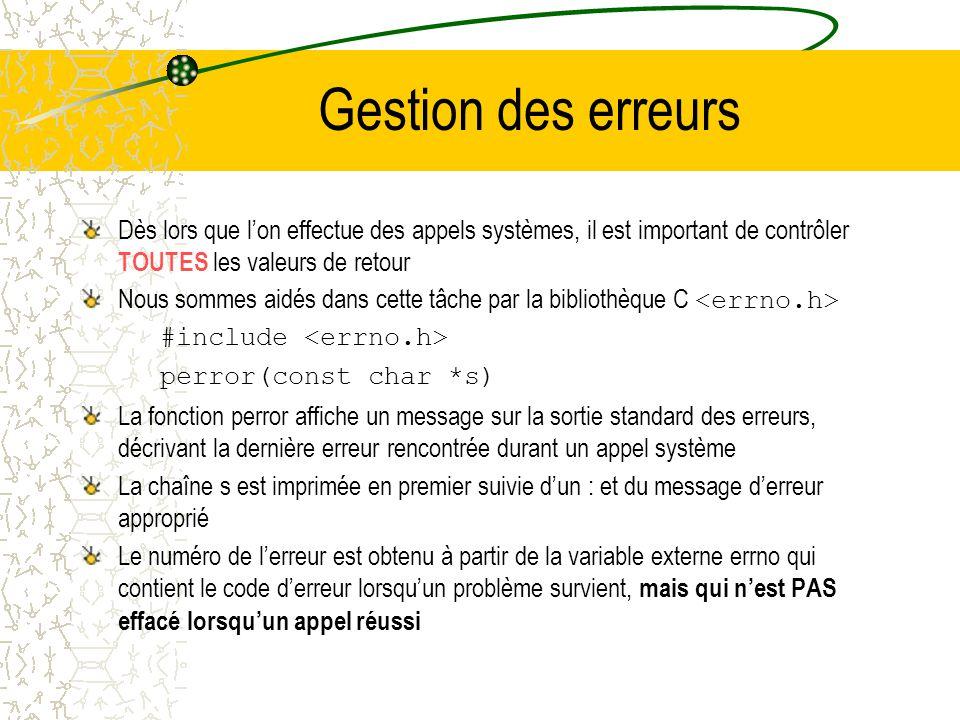 Attente de la mort dun fils #include #include pid_t wait (int* status) pid_t waitpid(pid_t pid, int* status, int options) La fonction wait suspend lex