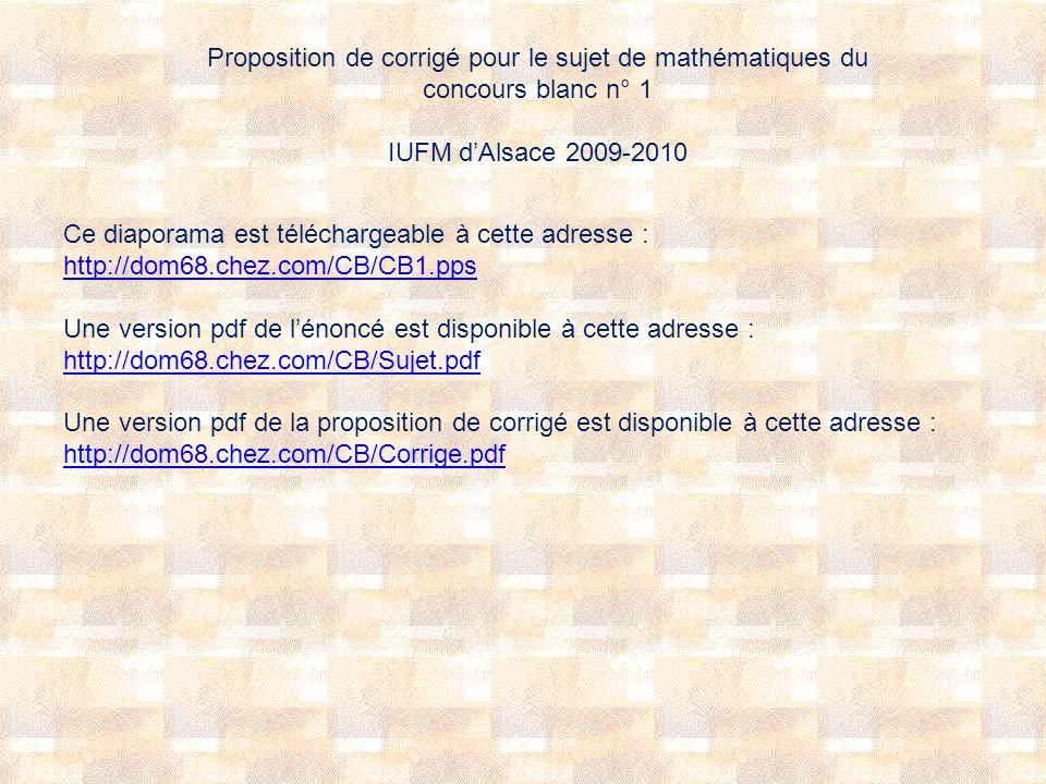 Solution : Exercice préalable : aller à http://dom68.chez.com/CB/Anim_2_2_b.htmlhttp://dom68.chez.com/CB/Anim_2_2_b.html et faire bouger les point A, B, C et D de façon à ce que I et J soient confondus.