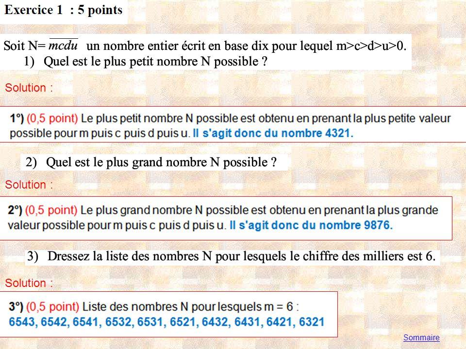 Solution : Exercice préalable : aller à http://dom68.chez.com/CB/Anim2_1_a.htmlhttp://dom68.chez.com/CB/Anim2_1_a.html et faire bouger le point M et comparer les longueurs AM et BM selon la position du point M.
