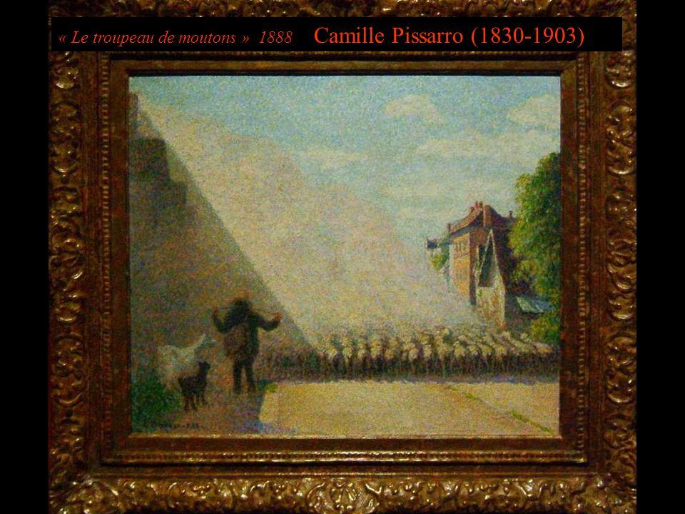 « Le troupeau de moutons » 1888 Camille Pissarro (1830-1903)