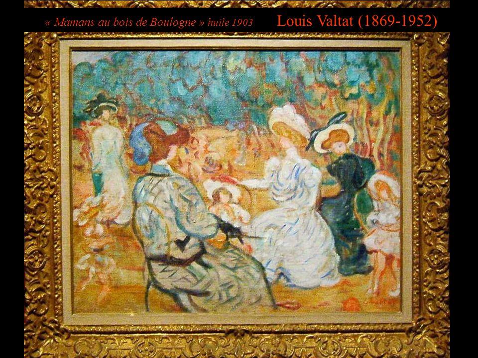 « Mamans au bois de Boulogne » huile 1903 Louis Valtat (1869-1952)