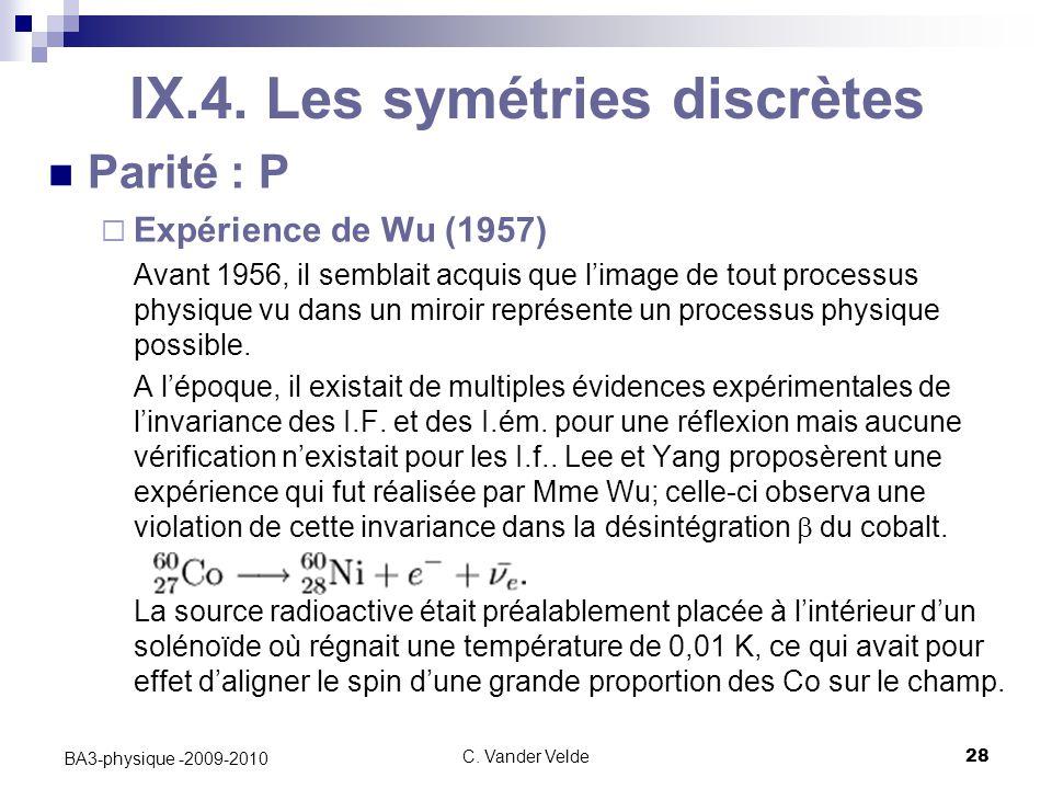 C.Vander Velde28 BA3-physique -2009-2010 IX.4.