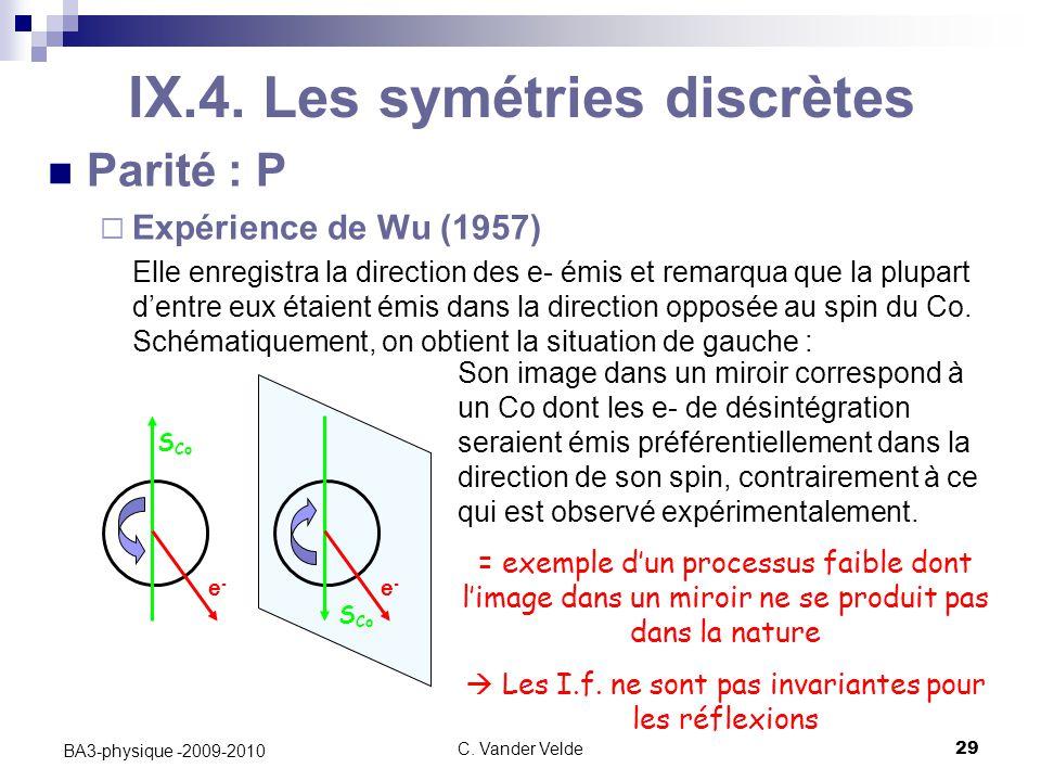 C.Vander Velde29 BA3-physique -2009-2010 IX.4.