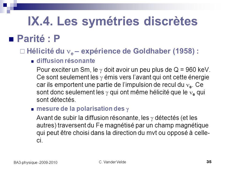 C.Vander Velde35 BA3-physique -2009-2010 IX.4.