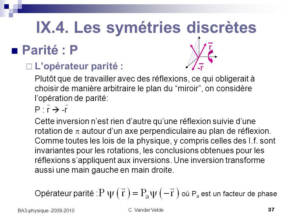 C.Vander Velde37 BA3-physique -2009-2010 IX.4.