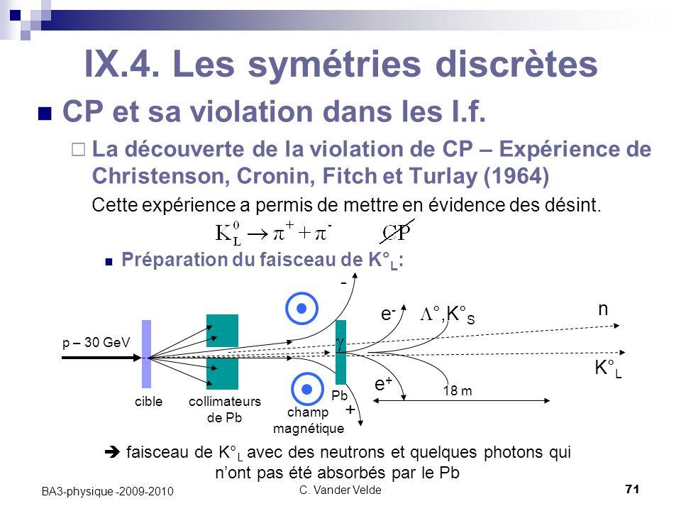 C.Vander Velde71 BA3-physique -2009-2010 IX.4.