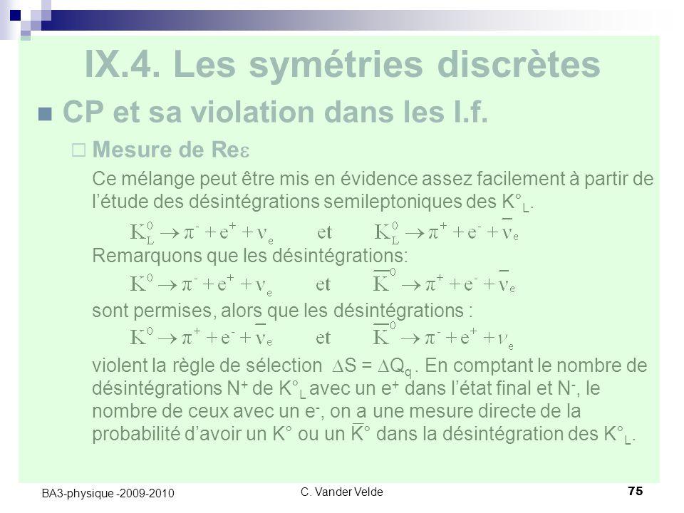 C.Vander Velde75 BA3-physique -2009-2010 IX.4.