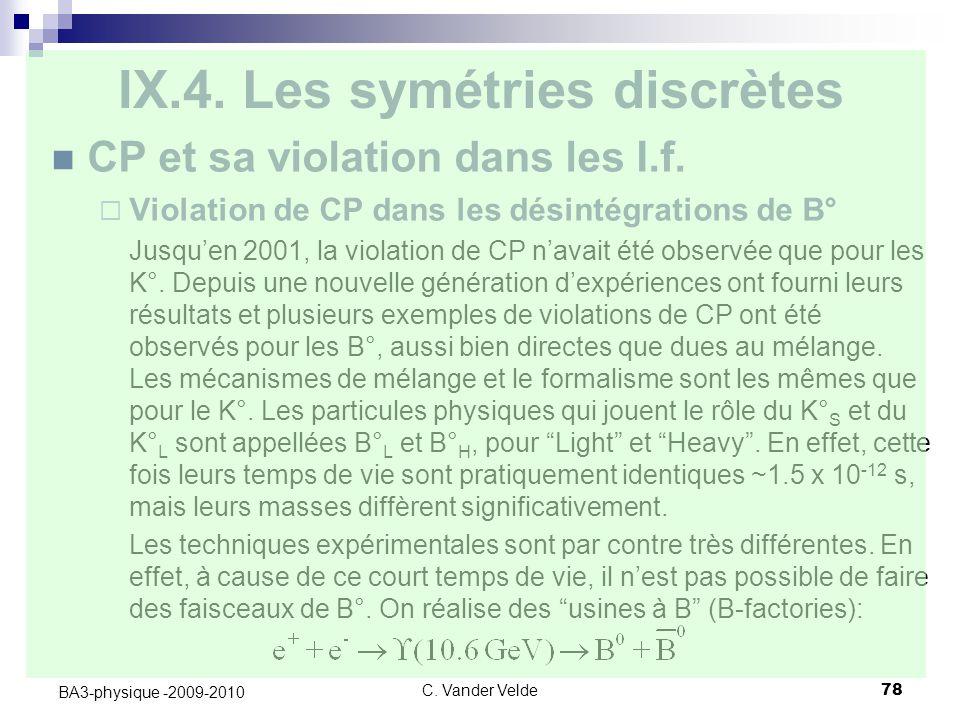 C.Vander Velde78 BA3-physique -2009-2010 IX.4.