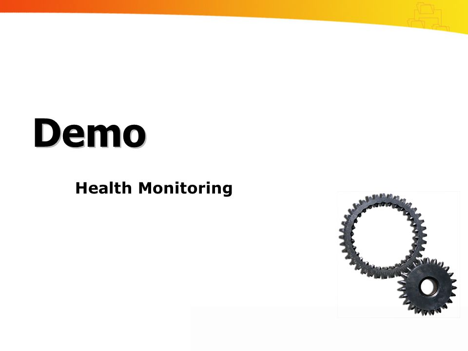 Health Monitoring Demo