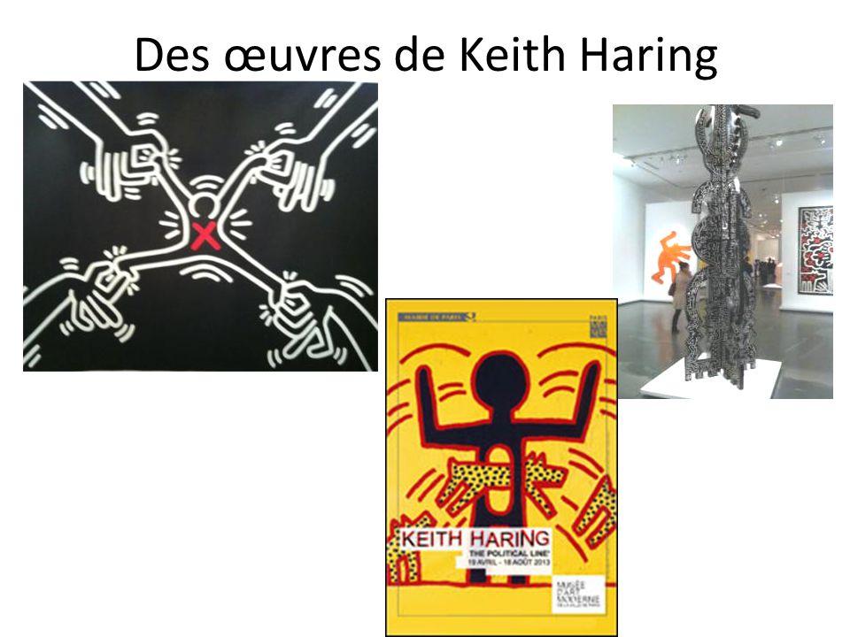 Des œuvres de Keith Haring