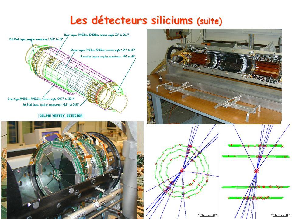 37 Les détecteurs siliciums (suite)