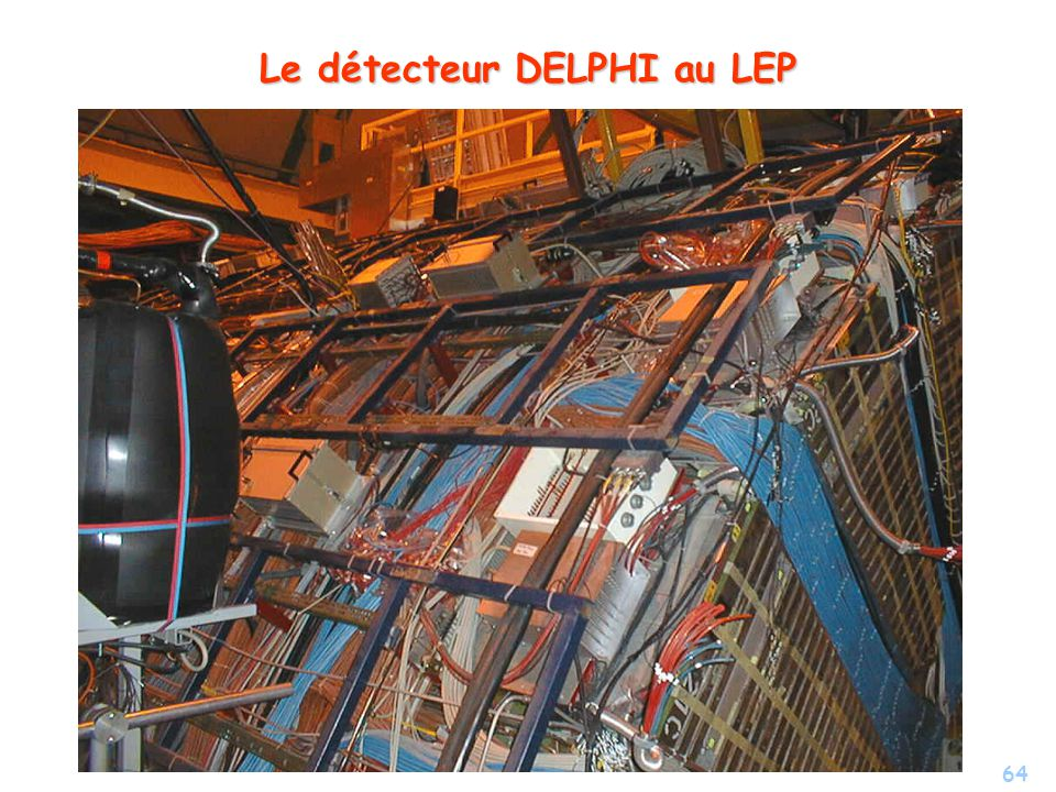 64 Le détecteur DELPHI au LEP